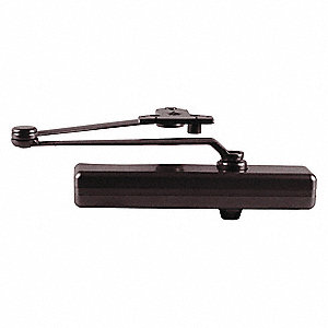 Door Closer,Dark Bronze,Nonhanded