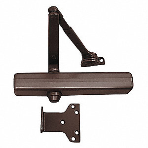 Hydraulic LCN 1461-Series Security Door Closer, Heavy Duty Interior and Exterior, Dark Bronze