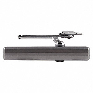 Door Closer,Aluminum,Nonhanded