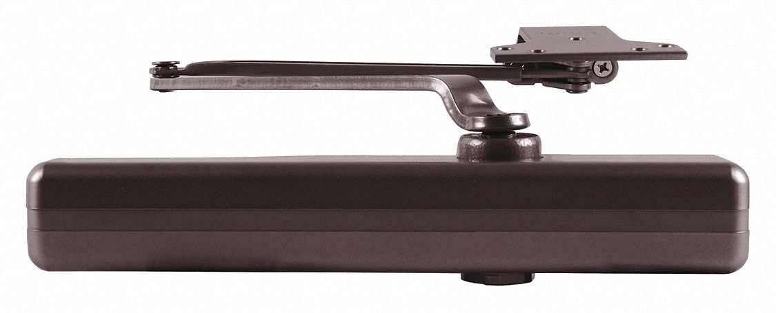 Lcn Hydraulic Security Door Closer Heavy Duty Interior And Exterior 22rc07 1461 Rw Pa Dkbrz Grainger