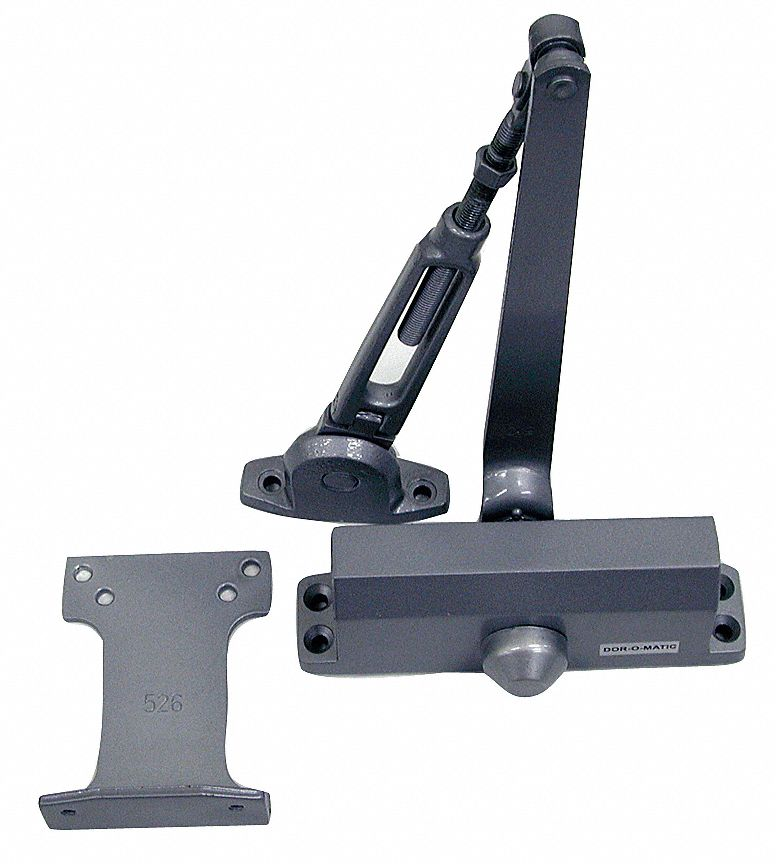 Hydraulic,  Security Door Closer,  Medium Duty,  Interior and Exterior