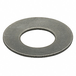 Disc Spring, Steel, I.D. 0.441 In, PK10