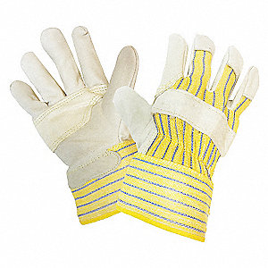 GLOVES GRAIN LTHR FITTER PATCH PLM