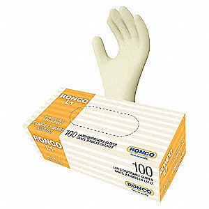 GLOVES L1 LATEX DISPOS PF XLGE