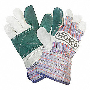 GLOVES SPLIT LTHR DBL PLM SC OS