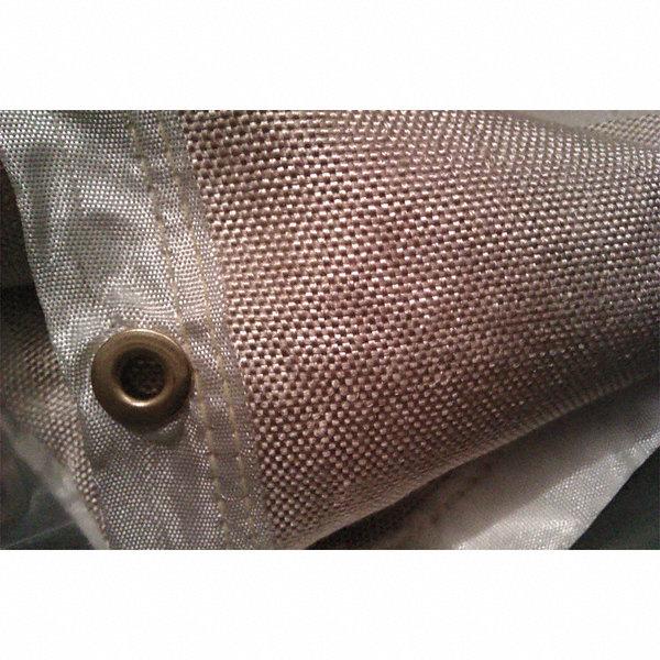 Westward Uncoated Fiberglass Welding Blanket 8 Ft H X 8