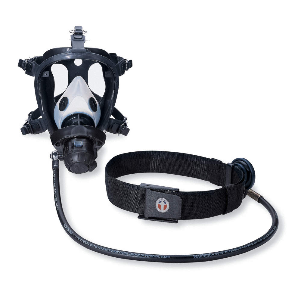 online retailer 6e788 7e3ee Supplied-Air Respirators (SARs) - The basic SAR is comprised of a  respirator facepiece—which could be a tight fitting half mask or full face  mask, ...