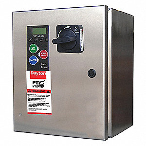 24VAC Key Pad NEMA Circuit Breaker Combination Starter, Enclosure NEMA Rating 4XS, 8 Amps AC