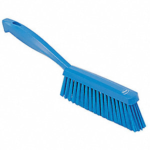 Blue Bench Brush, Overall Length 14""