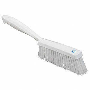 White Bench Brush, Overall Length 14""
