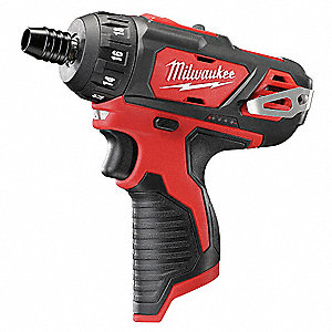 "1/4"" Hex Quick Change Cordless Screwdriver, 12.0 Voltage, Bare Tool"