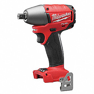 "1/2"" Ball Pin Detent Cordless Impact Wrench, 18.0 Voltage, 210 ft.-lb. Max. Torque, Bare Tool"