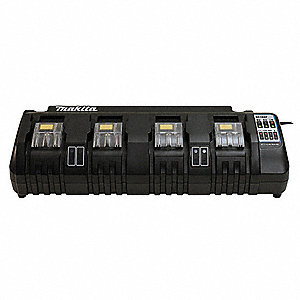Battery Charger, Li-Ion, Number of Ports: 4