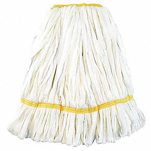 Strip Wet Mop,7 oz., Rayon