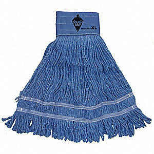Side Gate Rayon String Wet Mop Head, Blue