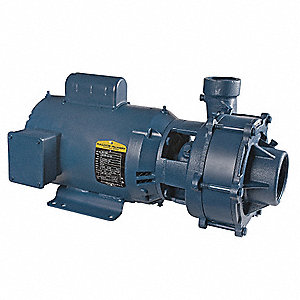 5 HP Centrifugal Pump, 1 Phase, 230 Voltage, 26.6 Amps