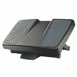 HPS Footrest, Black/Gray