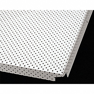 Ceiling Tile Exit Panel,Perf,24 x24,PK8