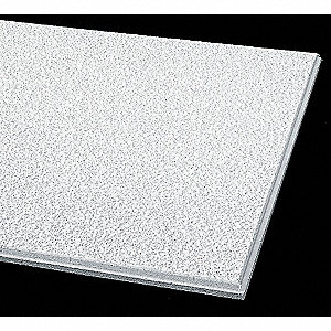 Ceiling Tile Beveled Tegular,24x24,PK12