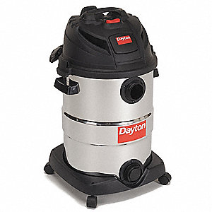 12 gal. Contractor Wet/Dry Vacuum, 5.5 Peak HP, 120 Voltage