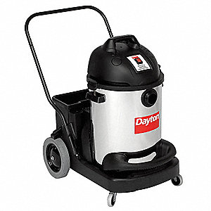 16 gal. Commercial Wet/Dry Vacuum, 12 Amps, HEPA Filter Type