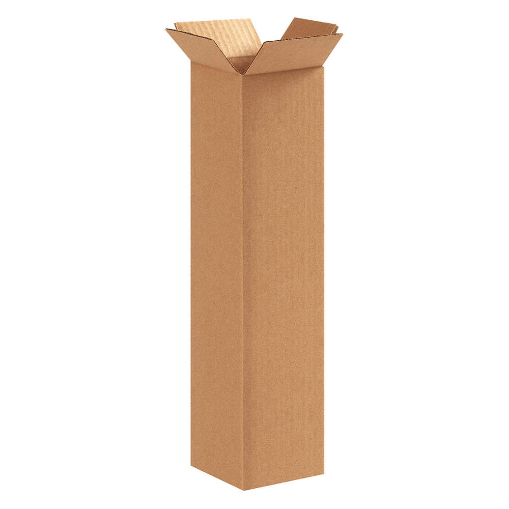 GRAINGER APPROVED 55VJ21 Shipping Box,Single Wall,32 ECT,Kraft PK 25