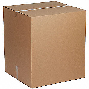 "Shipping Carton, Kraft, Inside Width 40"", Inside Length 48"", Inside Depth 36"", 65 lb., 1 EA"