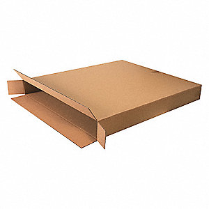 "Shipping Carton, Kraft, Inside Width 5"", Inside Length 36"", Inside Depth 42"", 95 lb., 1 EA"