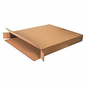 "Shipping Carton, Kraft, Inside Width 6"", Inside Length 36"", Inside Depth 42"", 95 lb., 1 EA"