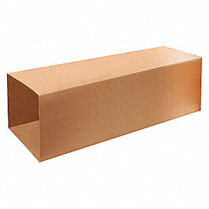 "Shipping Carton, Kraft, Inside Width 14"", Inside Length 14"", Inside Depth 40"", 65 lb., 1 EA"