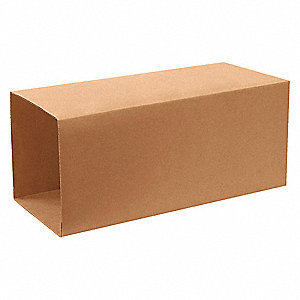"Shipping Carton, Kraft, Inside Width 24-1/2"", Inside Length 24-1/2"", Inside Depth 40"", 65 lb., 1 EA"