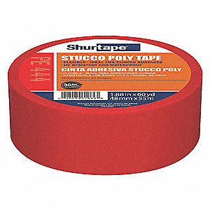 Film Tape,Polyethylene,Red,48mm x 55m