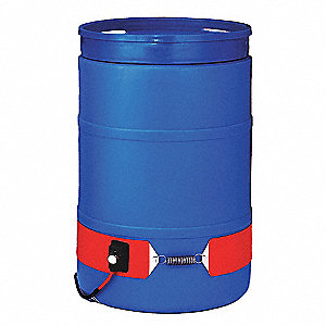 15GAL SILICONE BAND DRUM HEATER