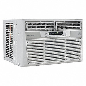 115 Window Air Conditioner, 12,000 BtuH Cooling, Includes: Pleated Quick Mount Window Kit