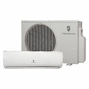Split System Air Conditioner,Wall, 230/208 Voltage, 22,000 BtuH Cooling, 10.8 EER