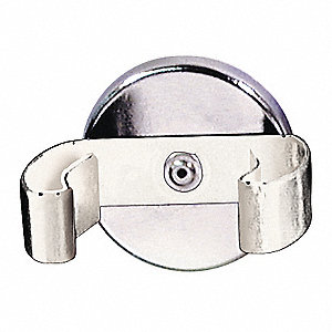 CLIP MAGNET WHITE CLAMP 22 LB