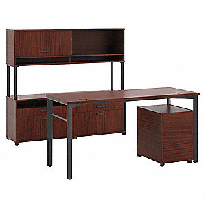 Office Workstation,60 x 55-5/8 x 82 In