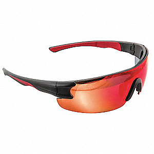 SAFETY SUNWEAR,BK,FRAMEREDMIR/AS