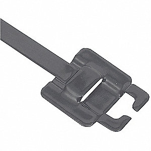 BAND-IT TIE SS, 1/4IN X 18IN COATED