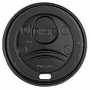 HOT CUP LID,TYPE DOME,8 FL. OZ.,PK1000