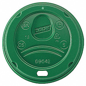 Hot Cup Lid,Dome,12 to 20 fl. oz.,PK1000