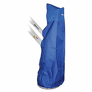 Mast Cover,Polyester,Blue,18 In