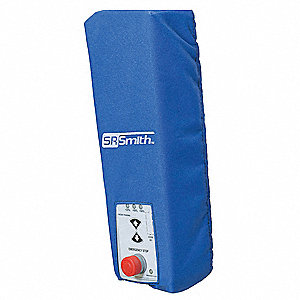 Control Box Cover,Polyester,Blue,6 In