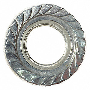 Serrated Flange Nut M10,PK2 for 6CGH6