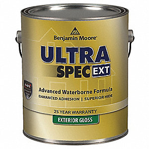 Exterior Paint,Gloss,1 gal,Caliente