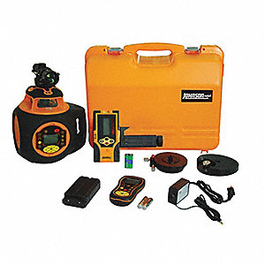 Rotary Laser Level,Ext,Red,2000 ft.