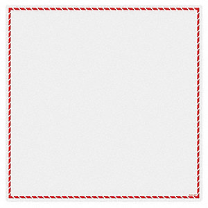 Workplace Laser Label,Red,8 In. L