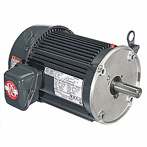 3 HP General Purpose Motor,3-Phase,1800 Nameplate RPM,Voltage 208-230/460,Frame 182TC
