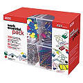 Paper Clip/Clamp Pack, Assorted