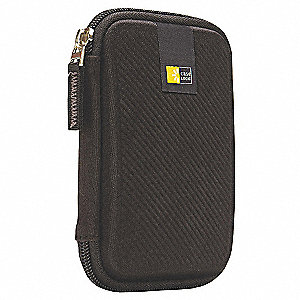 "Hard Drive Carrying Case, Devices 5  x 3-3/10 x 3/10"" Capacity"